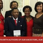 Anita with authors of Our Ancestors, Our Stories